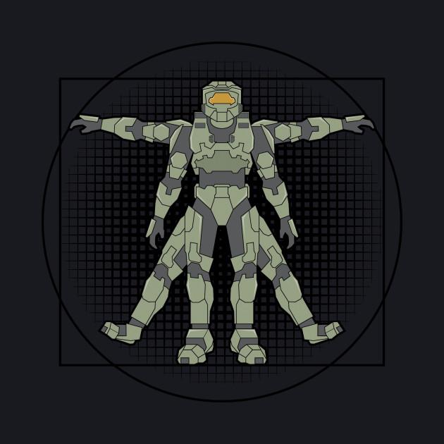 Vitruvian Spartan