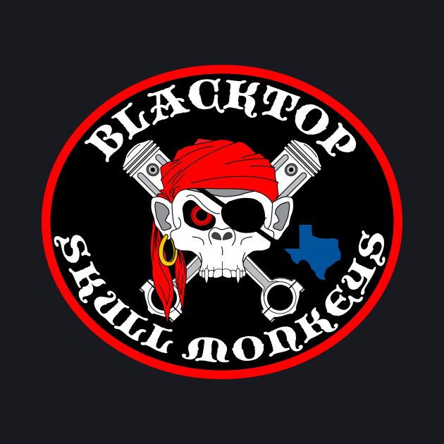 Blacktop Skull Monkeys Logo