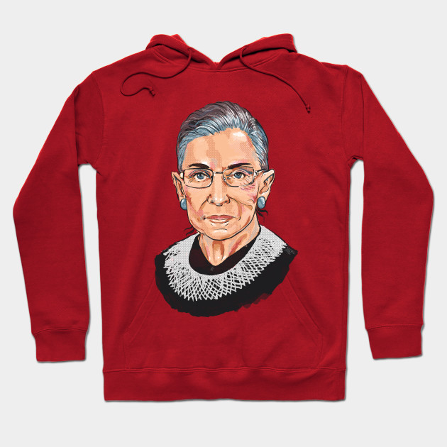 42bfdf8be136 Supreme Court Justice Ruth Bader Ginsburg - Woman - Hoodie