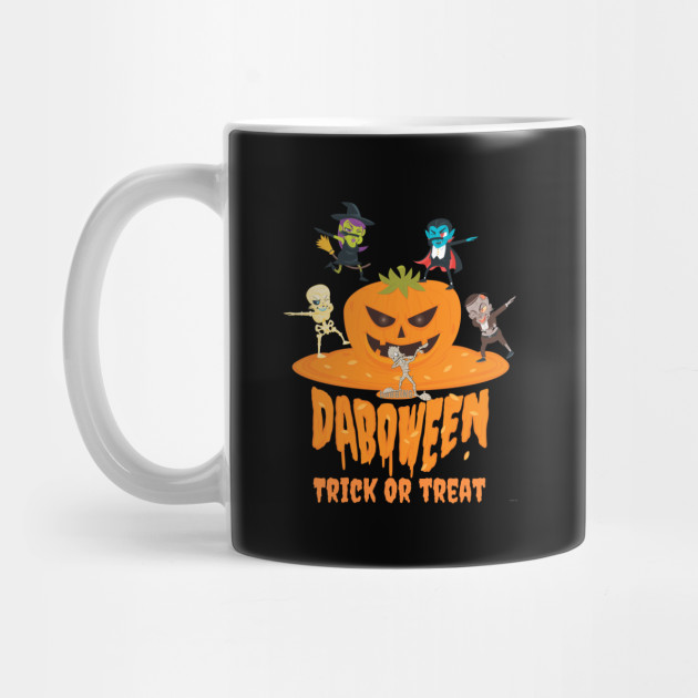 Daboween Trick Or Treat - Halloween Gift For Kids Halloween Shirt For Boys Halloween Mug