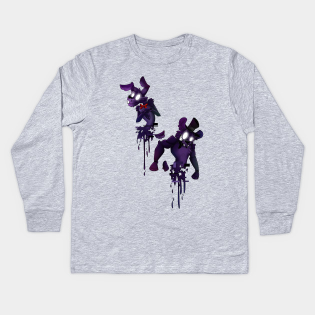 0ef31a9e1 FOLLOW ME FnaF Shadow Animatronics Shirt Design Kids Long Sleeve T-Shirt