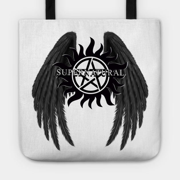 Supernatural Angel Protection Supernatural Angel Protection Tote