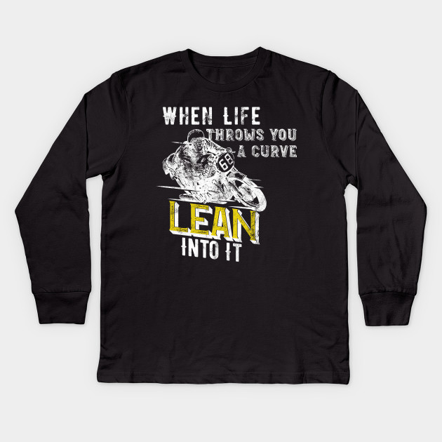 Lean Into It Manica Lunga T-shirt G4EUOFbE5