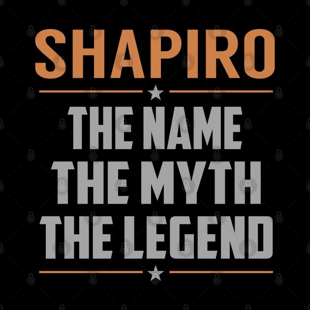 SHAPIRO The Name The Myth The Legend