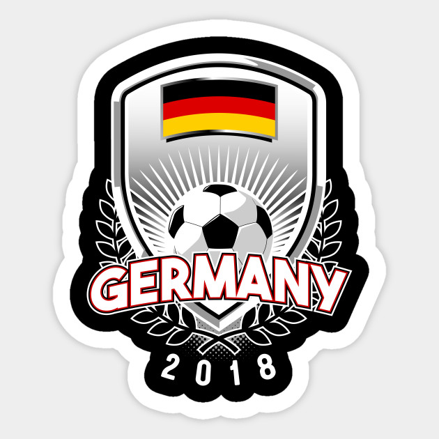 Germany Soccer 2018 Germany Soccer Sticker Teepublic