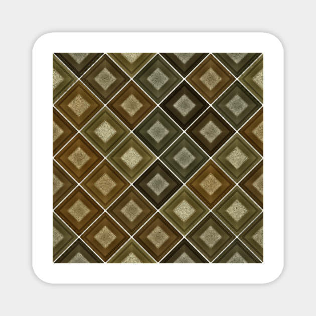 Shape pattern background with square
