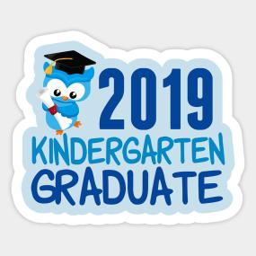 Kindergarten Graduation Stickers | TeePublic