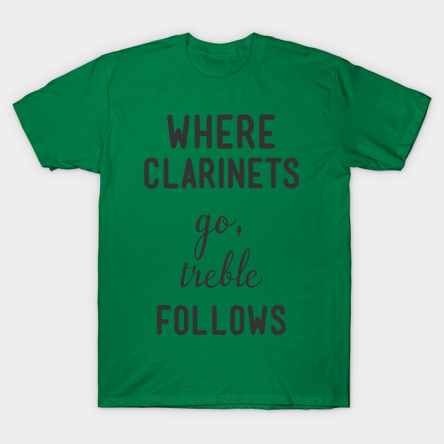 Shirt Hoodies In Prink Where Clarinets Go Treble Follows Tee Shirt