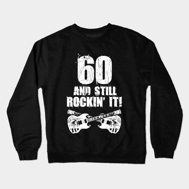 60th Birthday Vintage Ideas Man Crewneck Sweatshirt