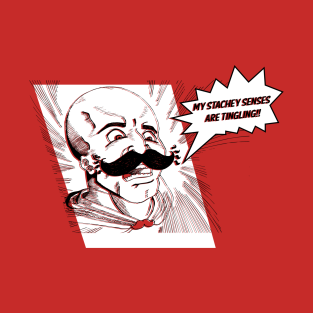Stachey Senses! t-shirts