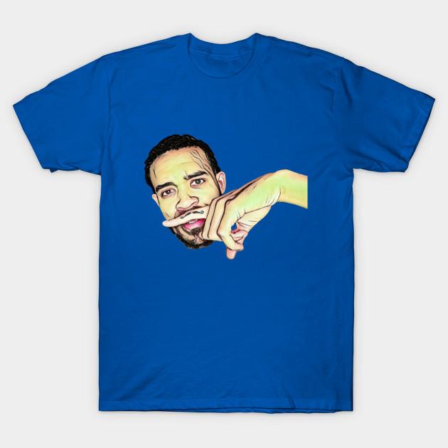 e20da2729 JaVale McGee Mustache - Nba - T-Shirt