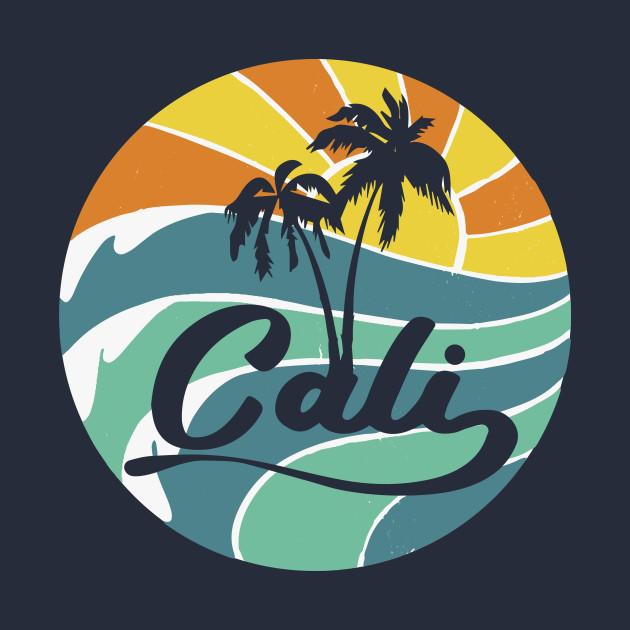 California Cal beach Republic Surf west coast cool gift