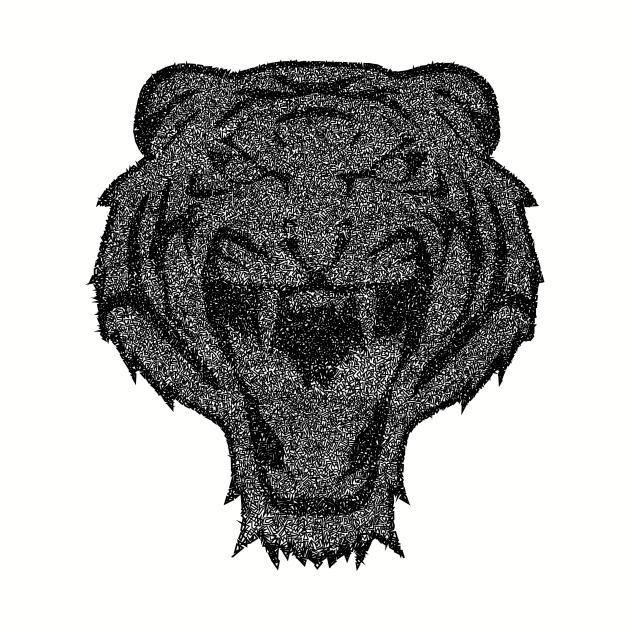 Tiger B/W Caosificado