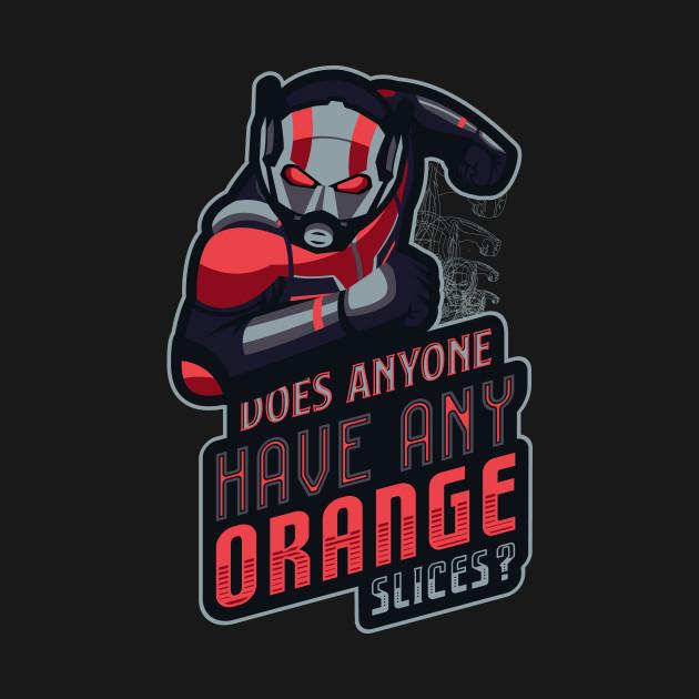 does anyone have any orange slices badges t shirt teepublic