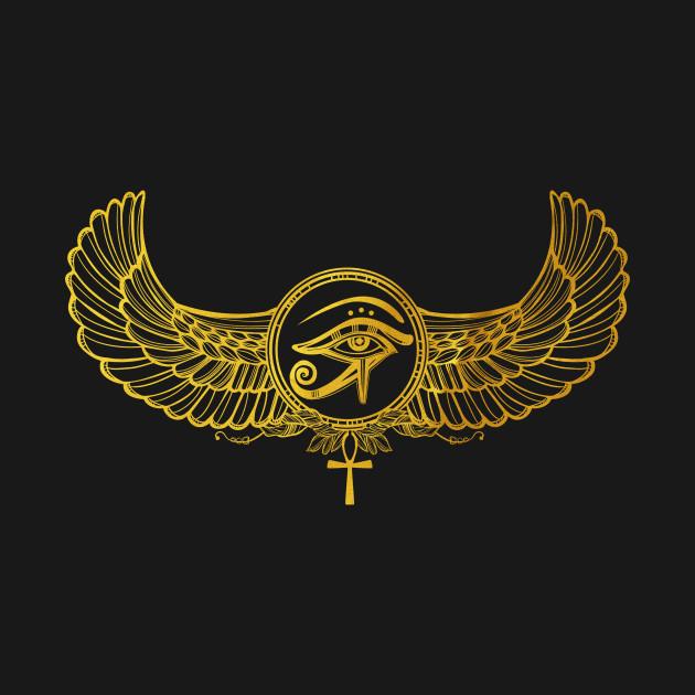 The Eye of Horus Golden