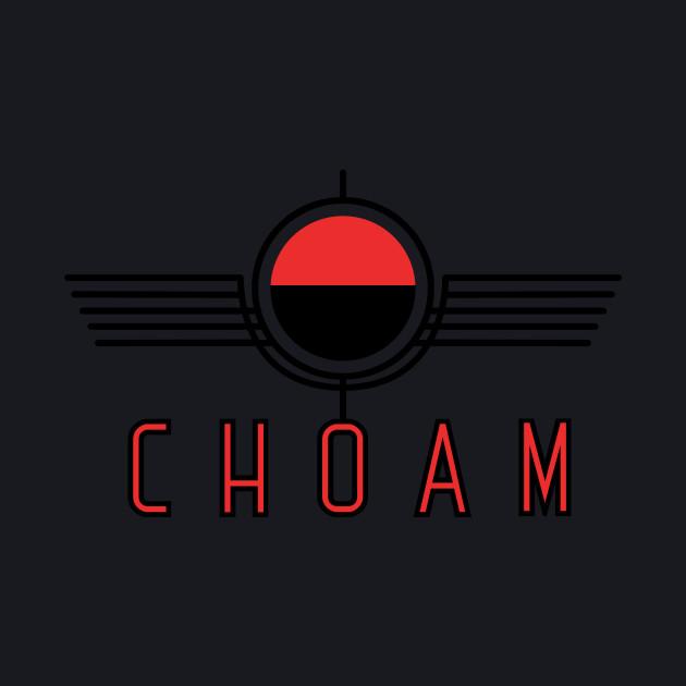 Choam logo red