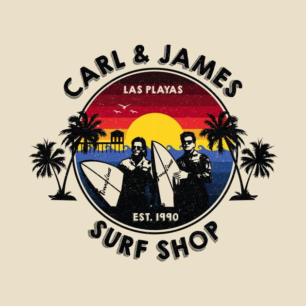 Carl & James Surf Shop