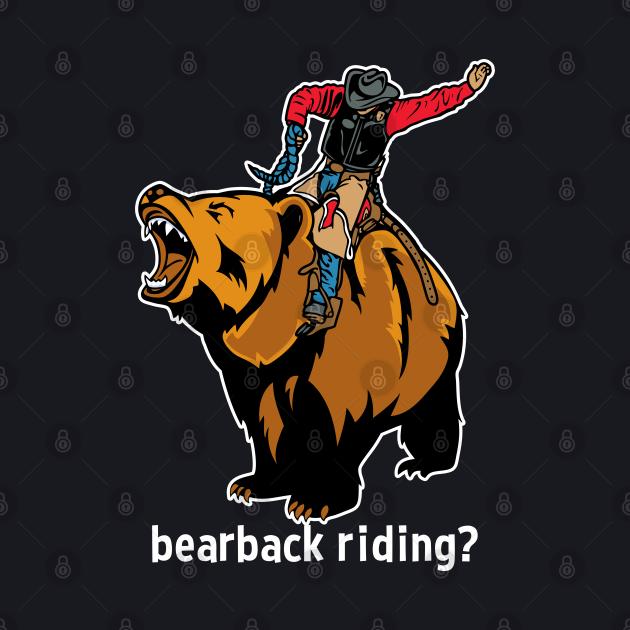 Funny Cowboy Bearback Riding Mashup