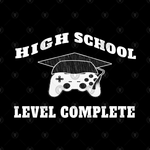 High School Level Complete School Graduation funny