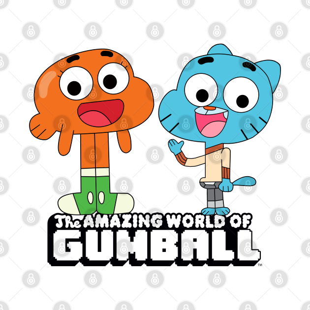 Gumball and Darwin greet the fans