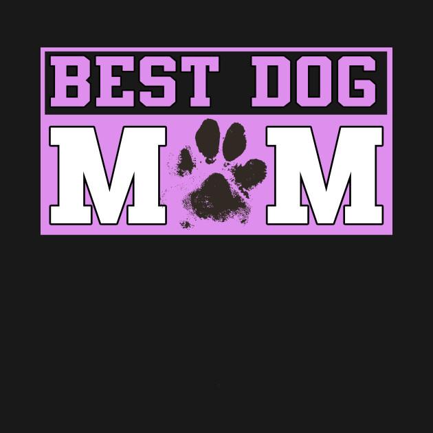 Best Dog Mom Paw Print Shirt