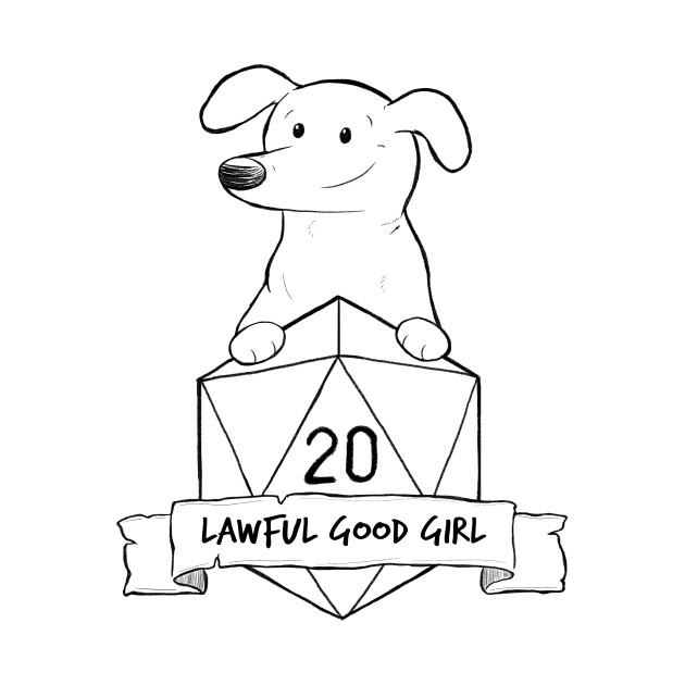 Smaller Print - Lawful Good Girl