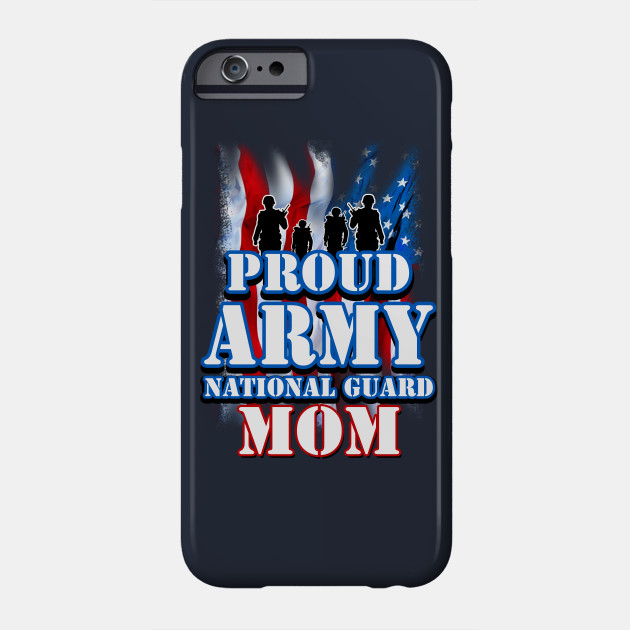 Proud Army National Guard Mom Mothers Day Phone Case