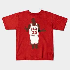 c18e6a60c1830f Michael Jordan Shoulder Shrug Kids T-Shirt