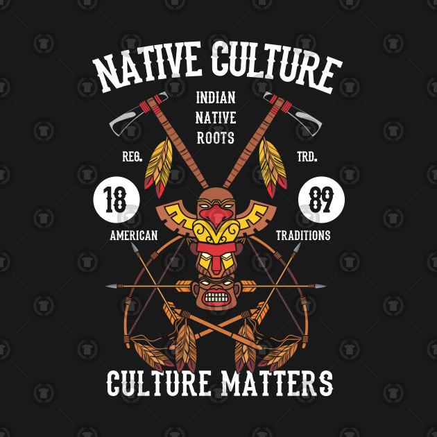 Native American T-SHIRT Native Culture