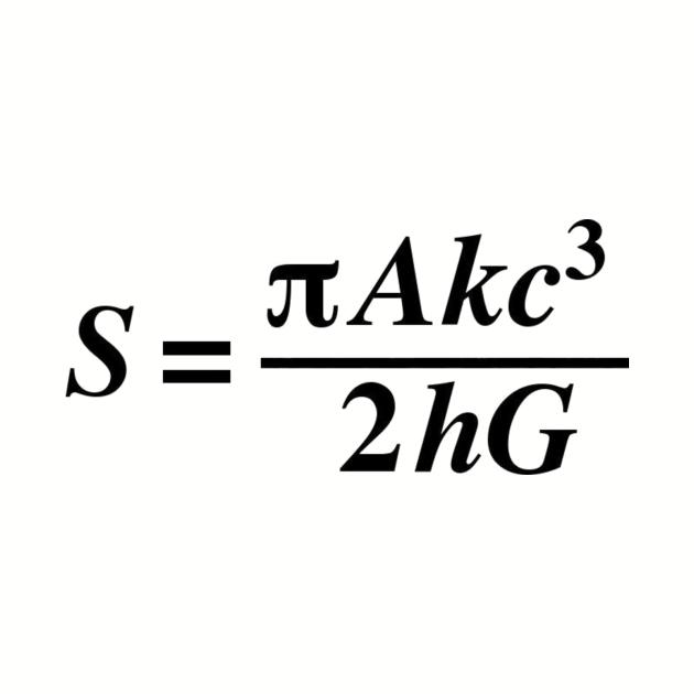 Stephen Hawking Equation