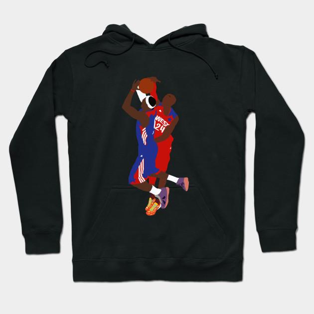 34c2bd22d49 Kobe Bryant Block On LeBron James - Kobe Bryant - Hoodie