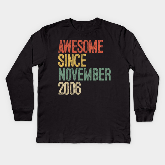 Awesome 2006 T-Shirt 13th Birthday Gift ideas T-Shirt For 13 Year Old Boys