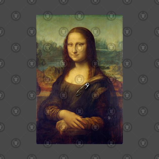 Mona Lisa Ally Safety-Pin Tee