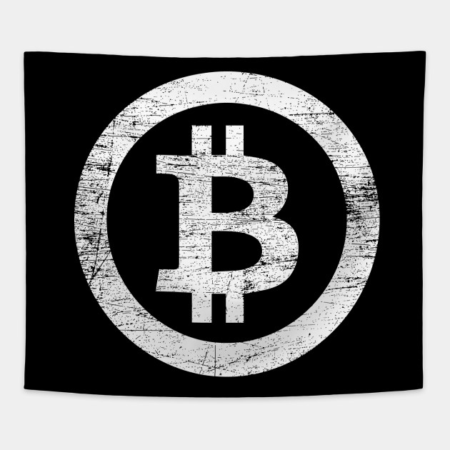 Bitcoin Symbol Crypto Currency Traders 3 Vintage Bitcoin Symbol