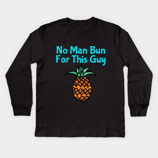 Pineapple Man Bun T-shirt