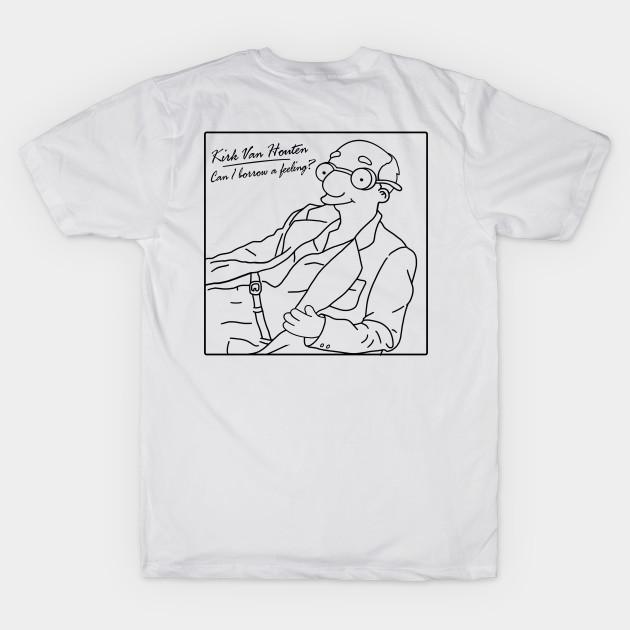3a95261af PT - Can I Borrow A Feeling - MJ b/w - Simpsons - T-Shirt | TeePublic