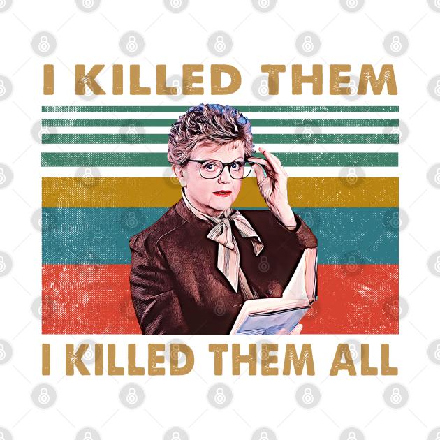 Retro Murder She Wrote - I Killed Them I Killed Them All