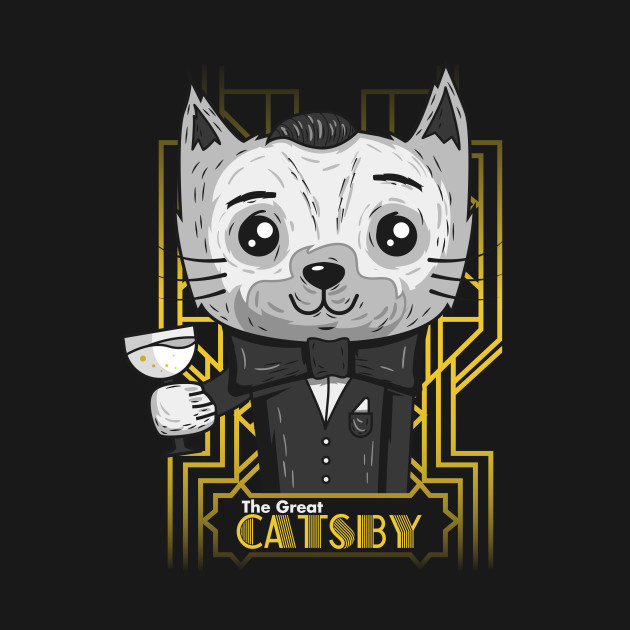 The Great Catsby Cat Shirt