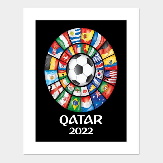 Qatar Soccer 2022 World Soccer Championship Memorabilia