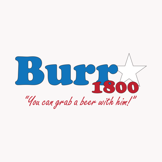 Aaron Burr for president- The election of 1800