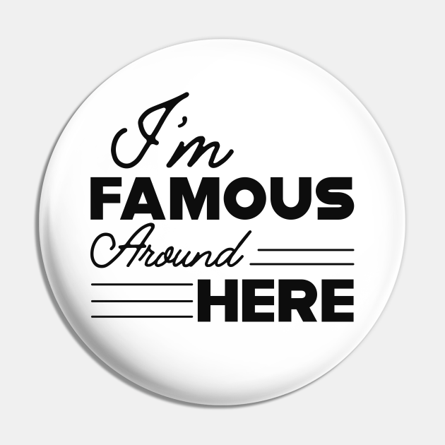 Teenager Girl - I'm famous around here