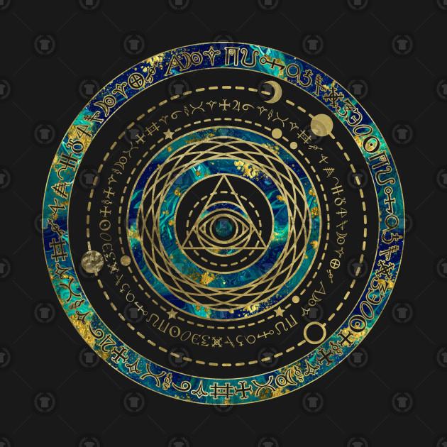 Mystical Sacred Geometry Ornament