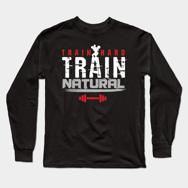 93732e853 Weightlifter Barbells Fitness Gym Weightlifting Train Hard Train Natural  Bodybuilder ...