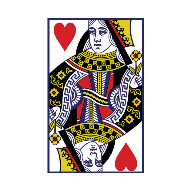 queen of hearts playing card shirt queen of hearts t. Black Bedroom Furniture Sets. Home Design Ideas