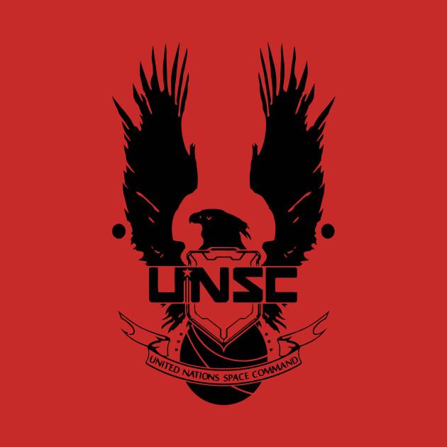 unsc logo halo 4 clean logo in black unsc logo halo 4 hoodie