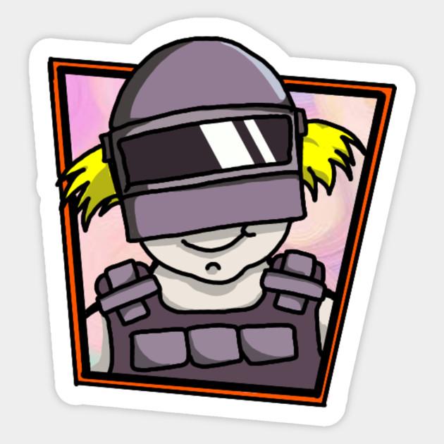 Deaya In Pubg Character Vector Sticker Teepublic