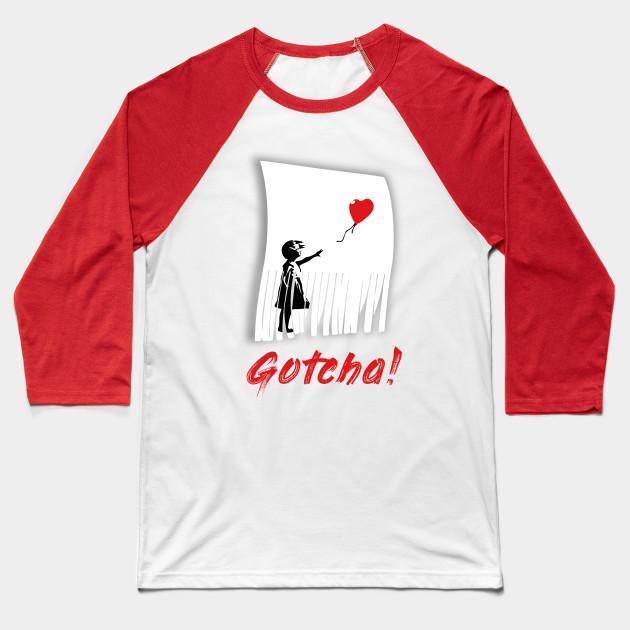 Gotcha! - Banksy Shredded Balloon Girl Love Is In The street art