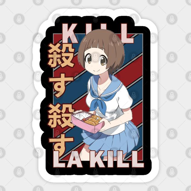 Mako Mankanshoku Kill La Kill Anime Design Mako Mankanshoku Sticker Teepublic