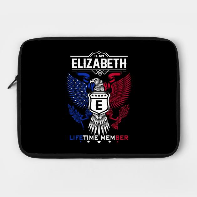 Elizabeth Name T Shirt - Elizabeth Eagle Lifetime Member Legend Gift Item Tee