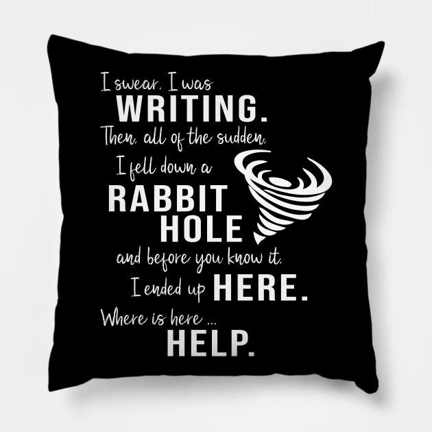 Writing Rabbit Hole Funny Writer